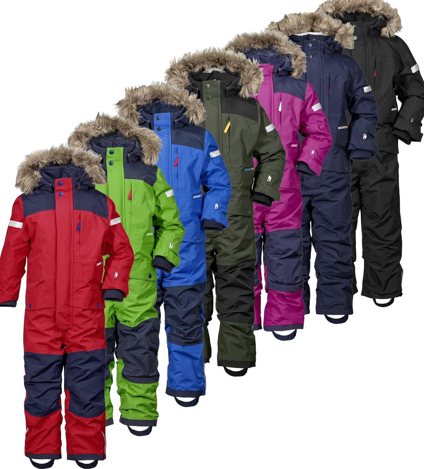 3eed69d99 Didriksons Bjornen Kids Coverall Snowsuit - Run Charlie