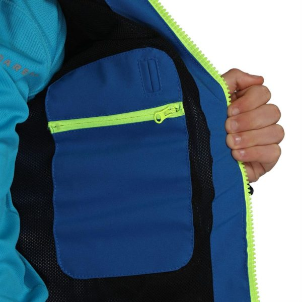 Dare2b Boys /& Girls Kids Resonance Waterproof Technical Jacket