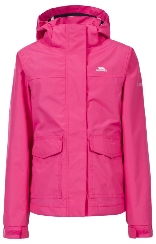 Girls Trespass Cecily Jacket Windproof Waterproof