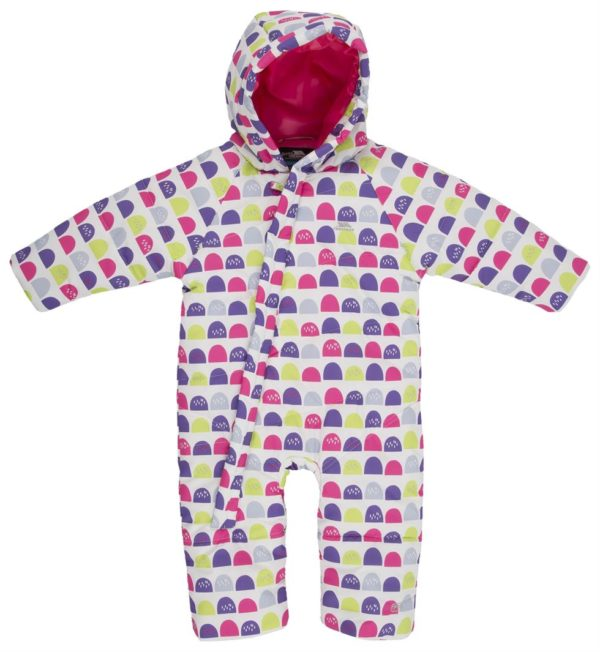 40da1e95e9ed Trespass Breezy Babies Snowsuit - Run Charlie
