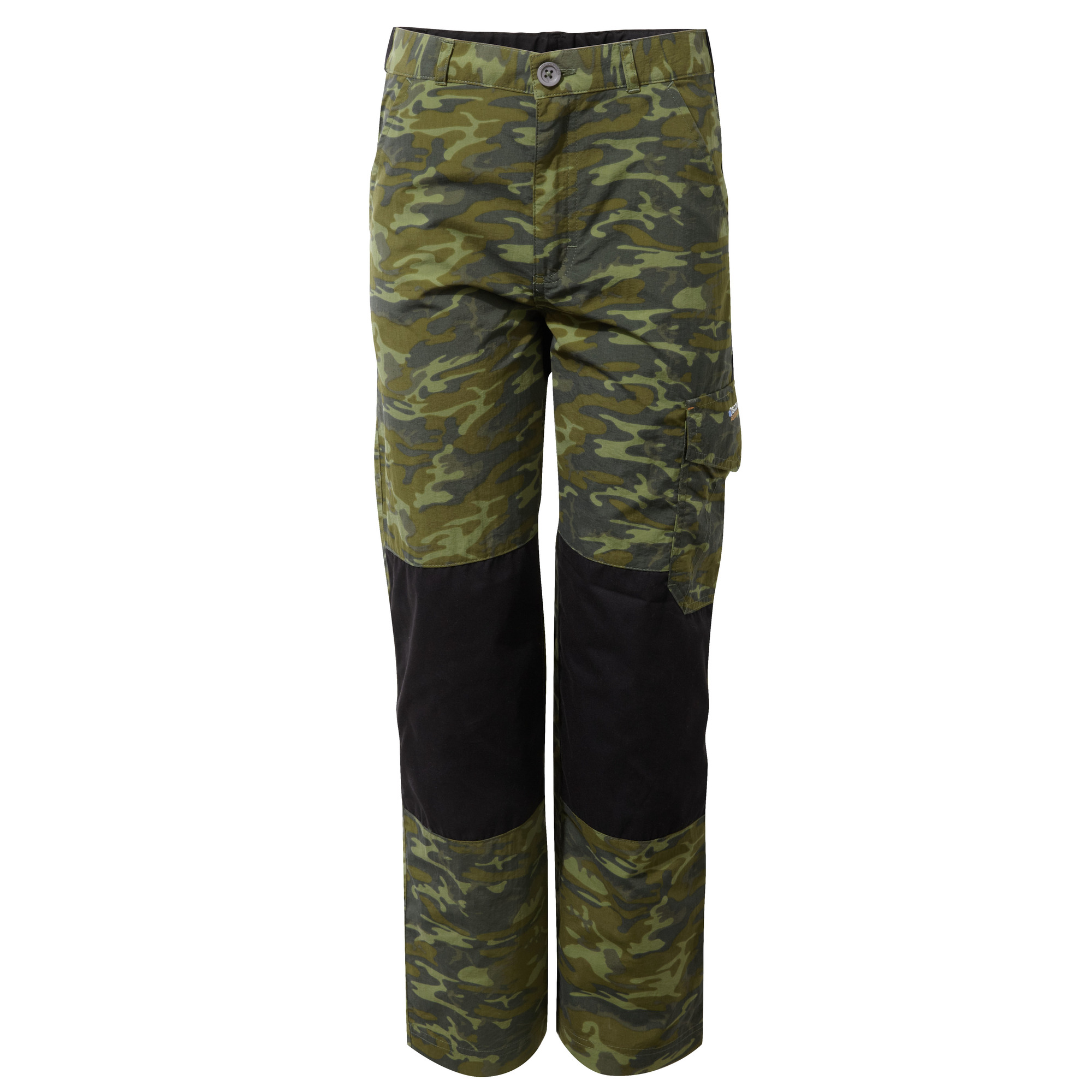 Black Craghoppers Kids Discovery Adventures Trousers Size 7-8