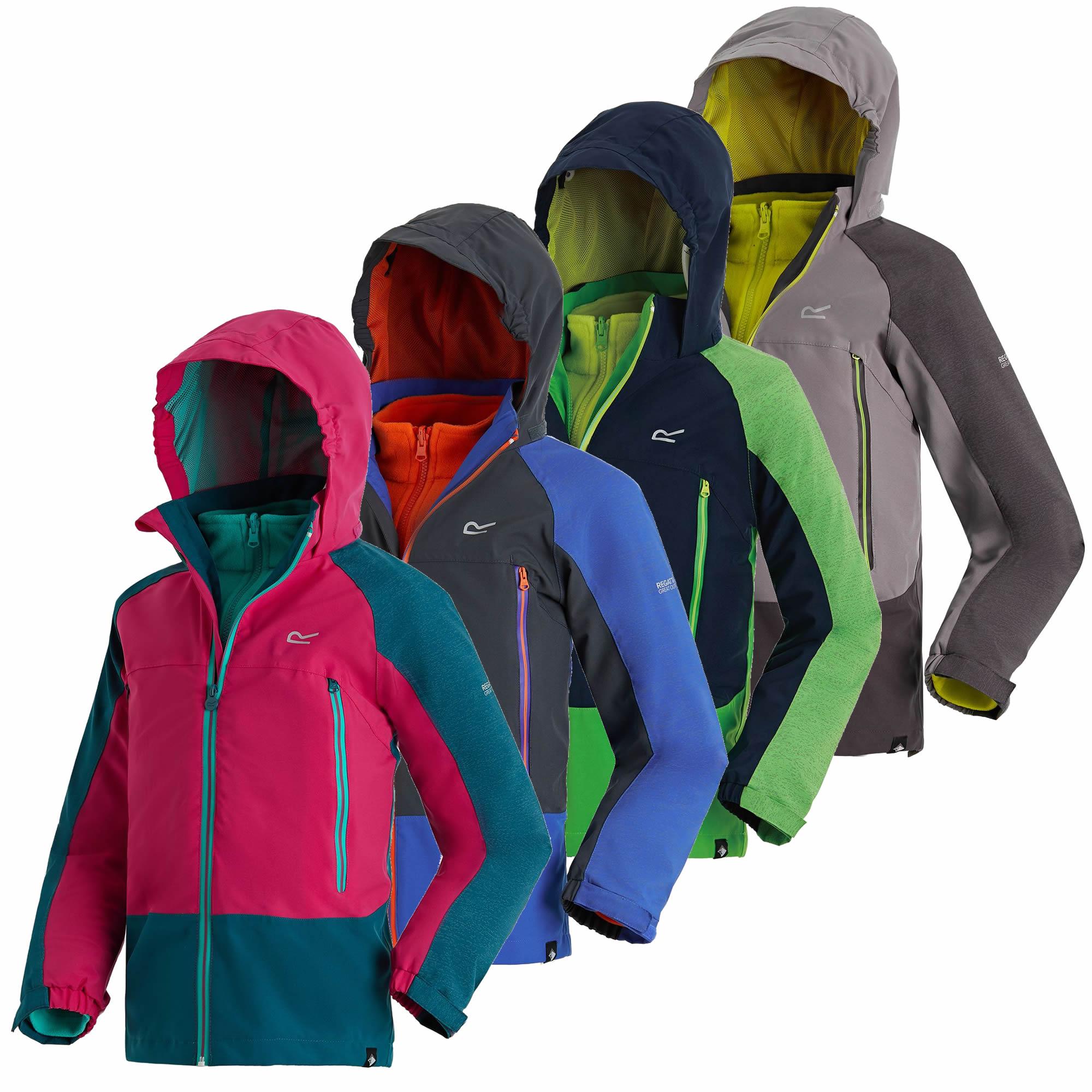a488e91cdaf1 Regatta Hydrate III 3-in-1 Kids Jacket - Run Charlie
