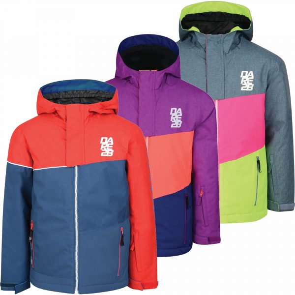 Dare2b Offtrack Kids Jacket Ski Insulated Waterproof Boys Girls 3-10 years