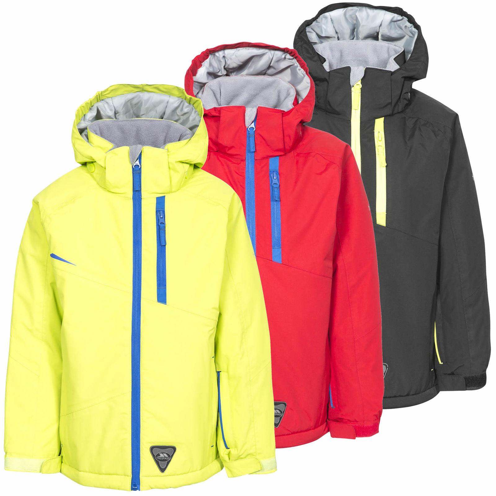 Trespass Mander Boys Waterprof Insluated Ski Jacket