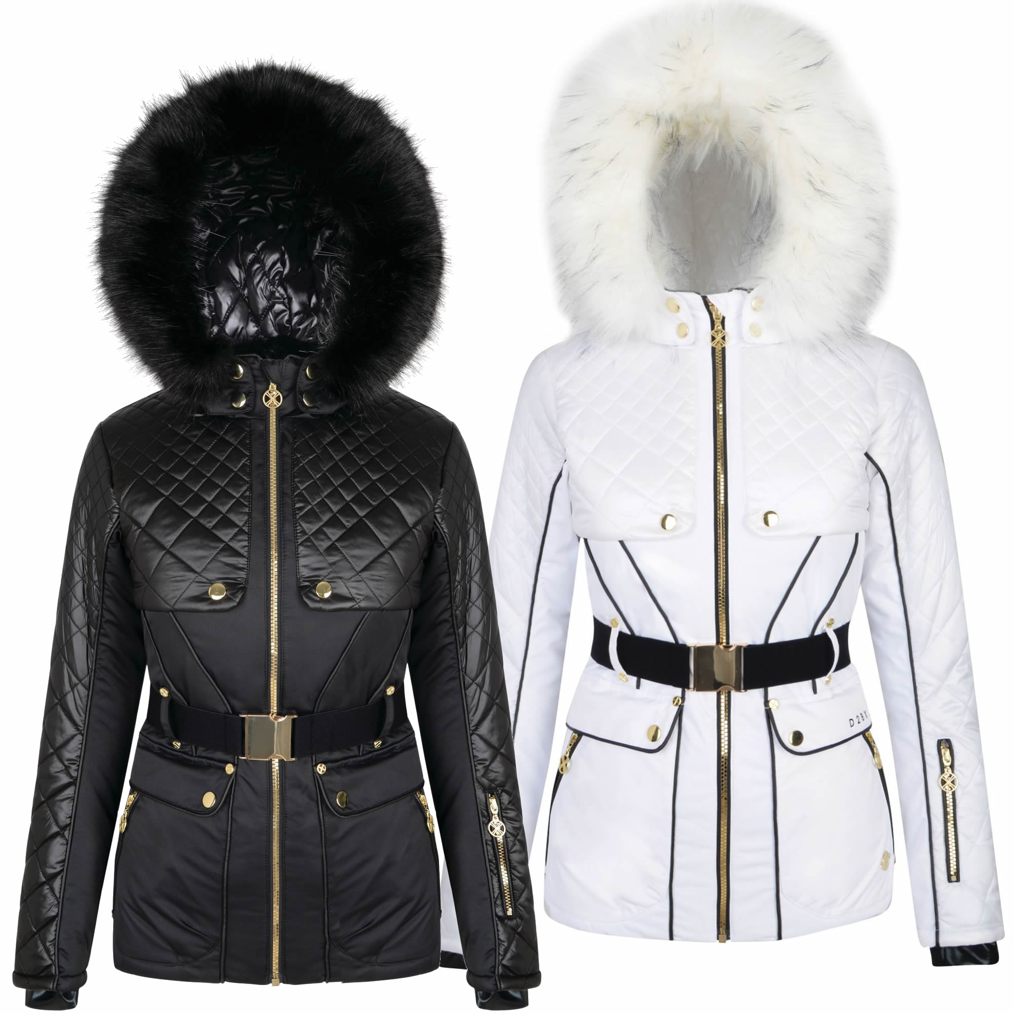 Dare2b X Julien Macdonald Indulgence Ladies Ski Jacket - Run Charlie c79a160be