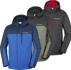 Columbia Pouring Adventure II Mens Waterproof Jacket