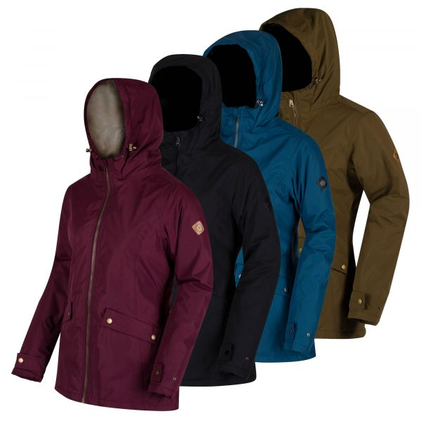 WOMENS WATERPROOF INSULATED BRIENNA JACKET REGATTA LADIES