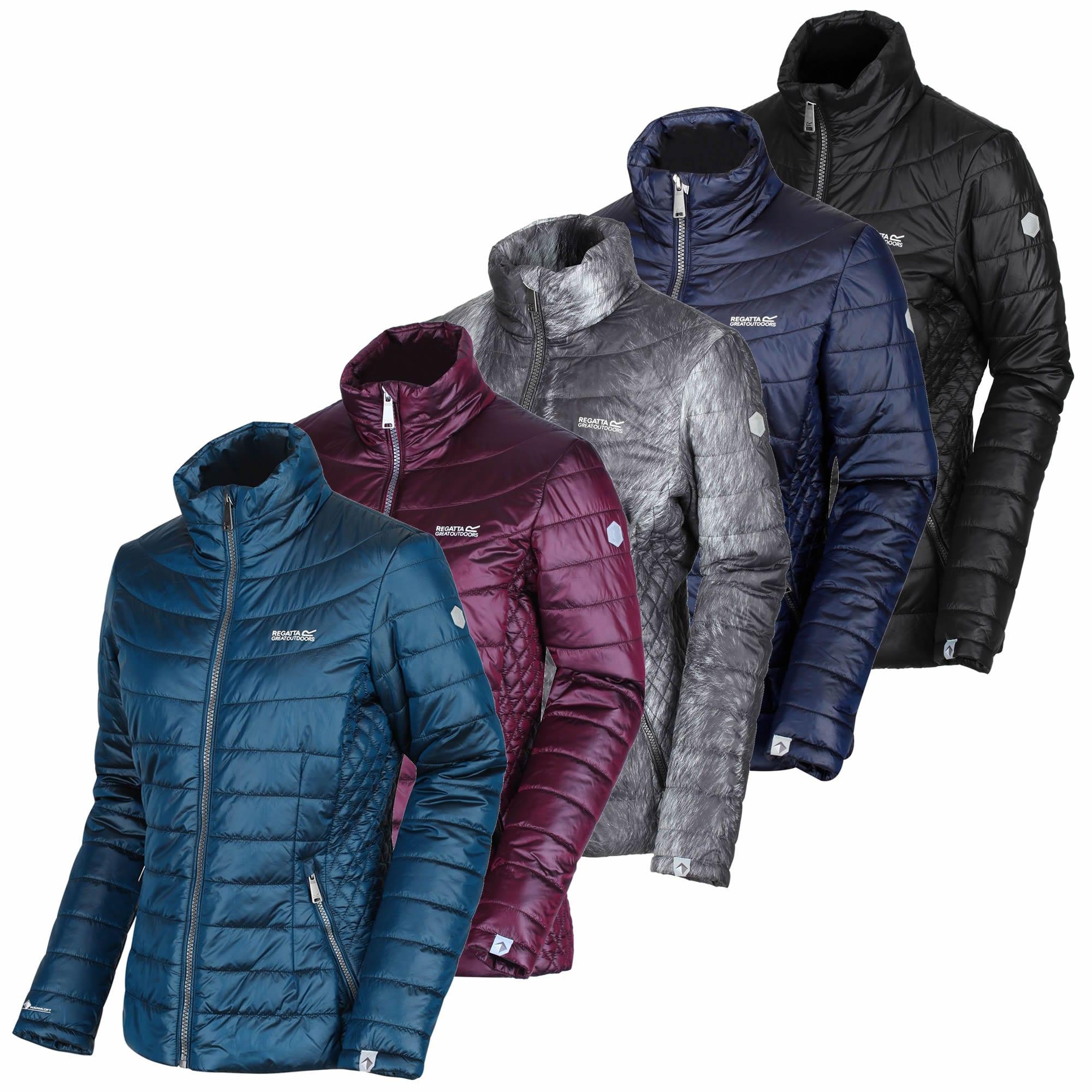 Beetroot Regatta Metallia II Metallic Ins Jacket