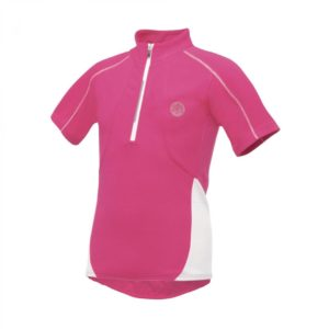 Dare2b Race Away Girls Cycle Jersey Half Zip