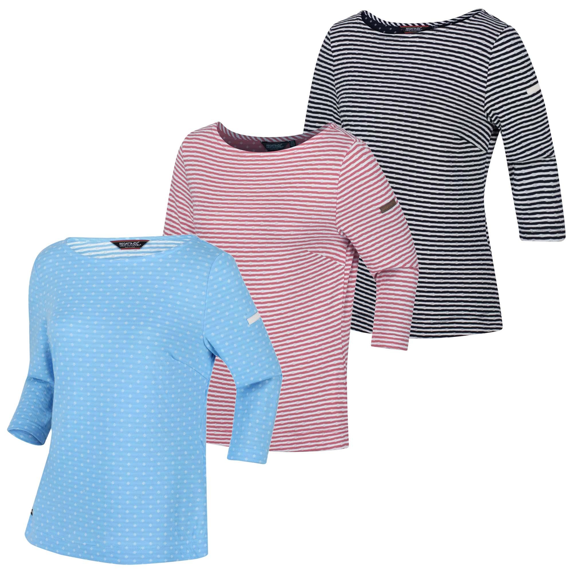 Regatta Helanie Womens 3//4 Sleeve Top